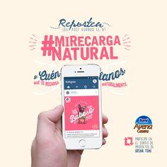 MiRecargaNatural (posts FB) on Behance