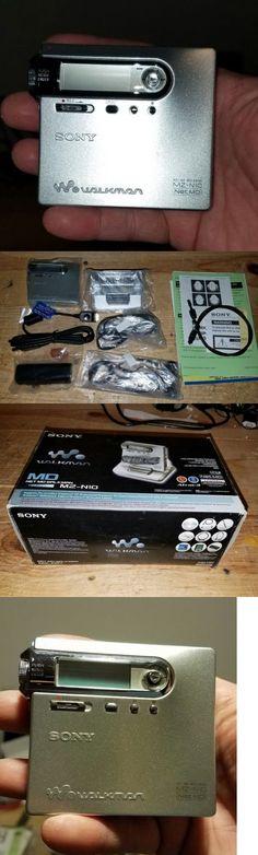 Personal MiniDisc Recorders: Sony Mz-N10 Net Md Walkman Portable Minidisc Digital Player/Recorder New In Box BUY IT NOW ONLY: $329.0