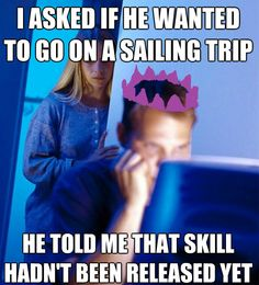 Significant others, make sure you don't make the same mistake. #RuneScape #Sailing