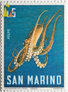 adventures-of-the-blackgang - Posts tagged postage stamp Kraken, Republic Of San Marino, Octopus Squid, Going Postal, Sea Theme, Vintage Stamps, Mail Art, Stamp Collecting, Marine Life