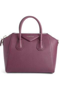 df905a3e39c5 Givenchy  Mini Antigona  Sugar Leather Satchel