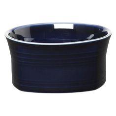 Fiesta Cobalt Square Soup / Cereal Bowl - Set of 4 - HPJC1268