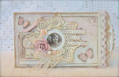 Cathrines hjerte. Card made with lovely papers from Pion <3