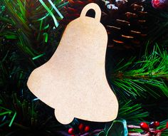 Our Christmas Bell shapes come in a pack of 5 and are perfect for those family Christmas craft projects.  Buy from amazon http://www.amazon.co.uk/gp/product/B00OHFB82I