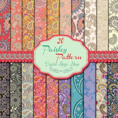 Hey, I found this really awesome Etsy listing at http://www.etsy.com/listing/152117670/20-paisley-pattern-digital-papers-pack