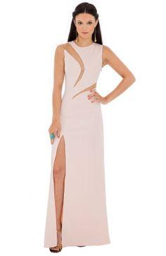 Nádherné spoločenské vykrajované plesové šaty – DOUBLE INSERT HIGH SLIT MAXI High Neck Dress, Prom, Dresses, Fashion, Turtleneck Dress, Senior Prom, Vestidos, Moda, Fashion Styles