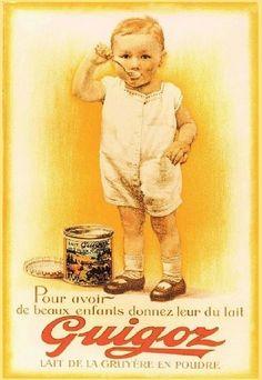 Publicité ancienne : lait Guigoz