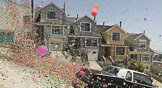 Do you remember that commercial involving hundreds of thousands of colorful bouncy balls wildly bouncing down the steep streets of San Francisco? Not only was it balls to the wall amazing, it was 110% real! Now thanks to the online art store LUMAS and Danish photographer Peter Funch, the limited edition prints are available for sale.