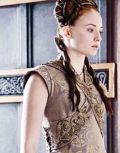 Sophie Turner as Sansa Stark in Game of Thrones (TV Series)