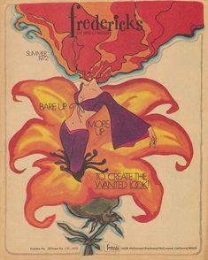 vintage Fredricks of Hollywood brochure