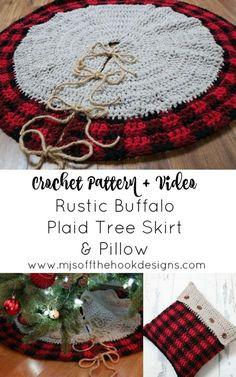 Knitted Christmas Decorations, Crochet Christmas Trees, Christmas Crochet Patterns, Christmas Knitting, Holiday Decor, Crochet Christmas Blanket, Crochet Ornaments, Crochet Winter, Crochet Snowflakes