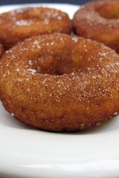 Italian Doughnuts Recipe Made with Pizza Dough, Rolled in Cinnamon and Sugar