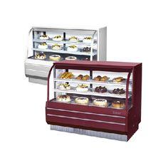 Gabinetes para Postres No Refrigerados (153 cm)/ Non Refrigerates Dessert Cabinets (153 cm)