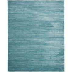 Vision Aqua (Blue) 8 ft. x 10 ft. Area Rug