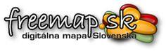 FREEMAP.SK - digitálna mapa Slovenska.