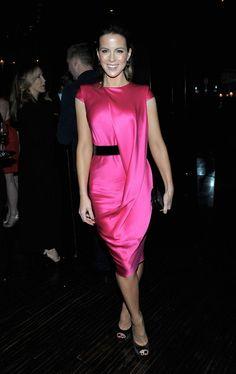 Kate Beckinsale wearing Alexander McQueen