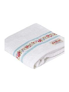 Lace stripe hand towel in blue, i got myself one of these and a face cloth- lush!