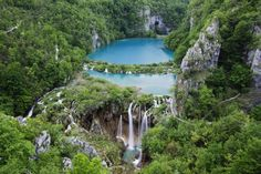 Plitvice Lakes National Park, Croatia ... though there's many reasons to visit beautiful Croatia, this amazing UNESCO World Heritage park of 16 lakes and countless waterfalls is a do-not-miss attraction!