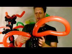 Ballon Animals, Balloons, Characters, Outdoor Decor, Heart, Youtube, Globes, Dragons, Tutorials