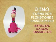 Dino Turma dos Flinstones - Especial 10 000 inscritos - YouTube