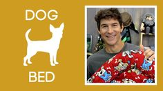 EASY DIY PET BED! FREE TUTORIAL! Rob from @mansewing with @missouriquiltco made an easy-to-follow sewing tutorial for a pet bed with #Cuddle! It's for his dog, Winston. Winston chose Ruff-Ruff Cuddle Scarlet http://bit.ly/1TwVKEG and Zig Zag Cuddle Red/Black/Snow http://bit.ly/1P0sq6d. It's also filleld with POLY-FIL from @fairfieldworld so it's extra cushy. Click on the link here http://bit.ly/1PPTYPg to watch the video. #DogBed #CatsonCuddle #PetBed