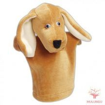 Báb - kutya, vizsla, 3 ujjas, plüss Vizsla, Scooby Doo, Character, Lettering
