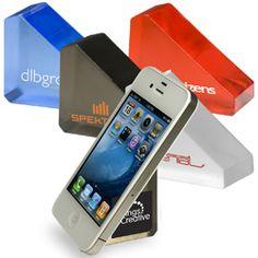 Gel phone holder