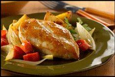 Irish Honey Mustard Chicken and Vegetables Recipe from RecipeTips.com!