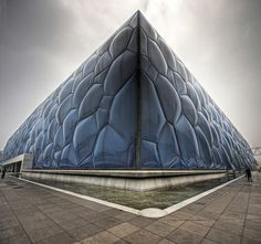 Symmetrical Watercube - Beijing National Aquatics Center