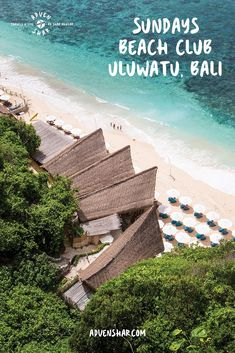 Where to Find White Sands in Bali? At Sundays Beach Club