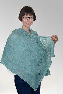 Knit shawl, free until May 25.