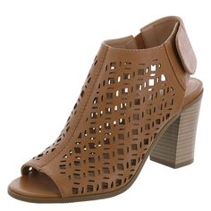Women's Perforated Haven Pump, Cognac Dress Shoes, Shoes Heels, Pumps, Flats, Cute Shoes, Me Too Shoes, Latest Design Trends, Christian Siriano, Shoe Storage