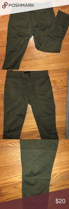 Olive Green Pants Vince pants purchased at Nordstrom. Great condition. Super flattering. Vince Jeans Skinny