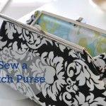 How to sew a clutch purse