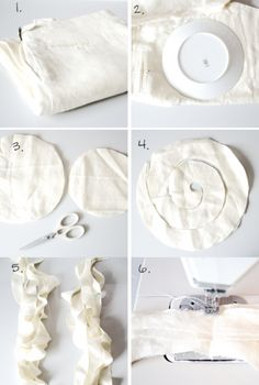 ruffled scarf, ruffled scarf project, diy ruffled scarf, creative scarf, scarf tutorial