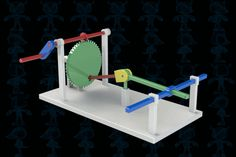 mechanism - Most liked models Mechanical Power, Mechanical Design, Mechanical Engineering, 3d Cad Models, Kinetic Art, Ideias Diy, Wood Toys, Sliders, Inventions