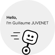 #GuillaumeJuvenet, a 21-year-old creative developers from Paris, has created a beautiful but simple portfolio and résumé website. It's fully interactive, prompting visitors to type certain things to see content. It's a great way to show off skills while also increasing engagement (rather than just bragging).