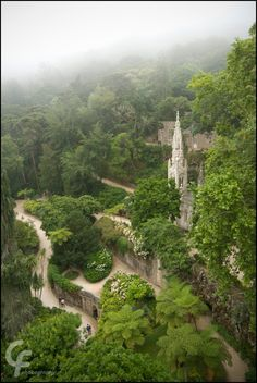 What a fantastic and fantastical place! - Quinta da Regaleira by catarinamzfernandes on deviantART