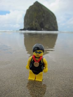 LEGO Collectible Minifigures Series 7 : Swimming Champion