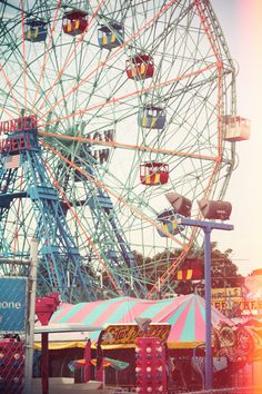 Coney Island, New York City - went here in 1998 & walked around then went to the beach