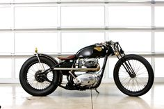 1965 BSA by gasbox makes me drool.  I really like the simple & clean no nonsense style, girder forks on a rigid frame ties it all together with just the right amount of detailing.  This would be my pick for a Saturday afternoon special when going out for a pizza with the guys.