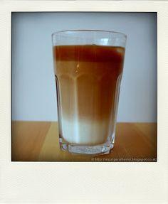 Eiskaffee - ohne Eiscreme   leipziger Alberlei
