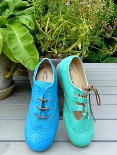 Manuela de Juan strong colour leathers for kids shoe styles summer 2014