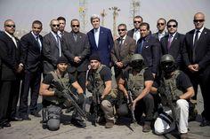 John Kerry and Tony Blair are pushing a bizarre disaster capitalist plan.