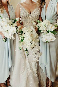 orchid wedding bouquets #weddings #weddingbouquets