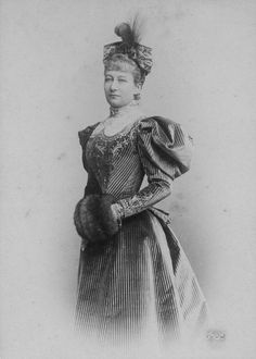 Augusta Victoria, Empress of Germany and Queen of Prussia 1895