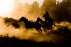 Cowboys riding across the ranch. http://krauseah.smugmug.com/Landscapes/Krause-Photographs/6680078_CnxZL6?k=sD7jx