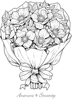 Floral bouquets coloring book coloring pages first edition welcome to dover publications from creative haven the beautiful language of flowers coloring book for flowers badge mightylinksfo