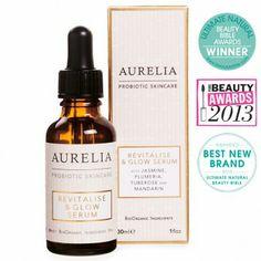 Revitalise & Glow Serum   Aurelia Probiotic Skincare   Organic Skincare
