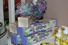 Lavender Rose shelf/drawer paper